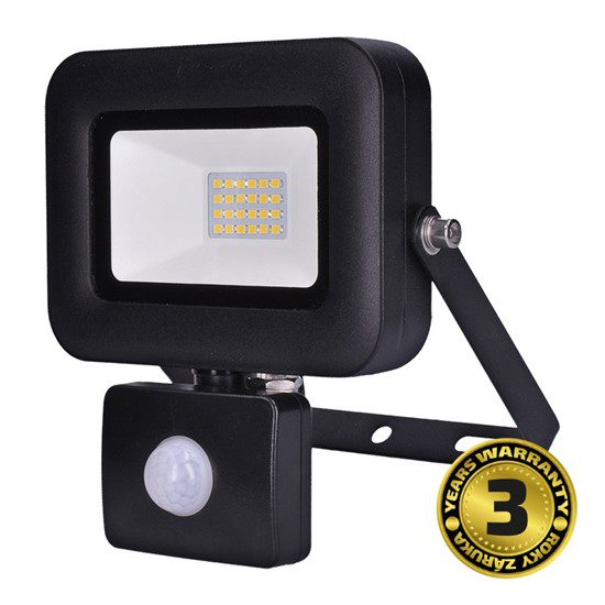 LED reflektor SOLIGHT PRO se senzorem, 20W, 1700lm, 5000K, IP44, WM-20WS-L