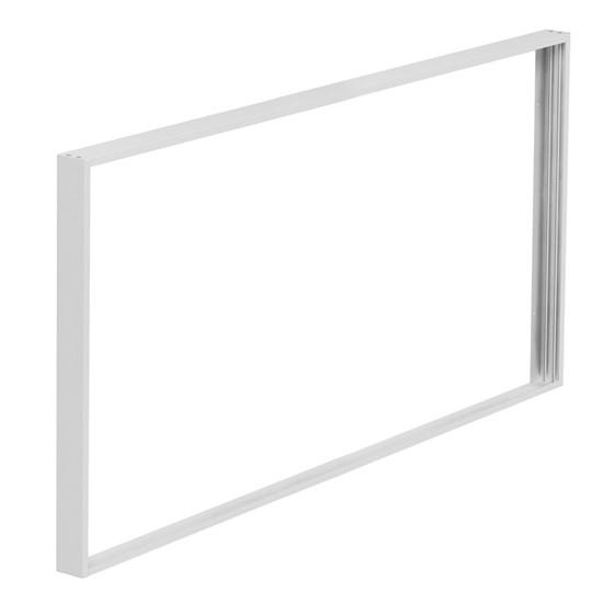 Rámeček hliníkový pro instalaci LED panelů SOLIGHT o rozměru 595x1195mm na stropy a zdi WO905