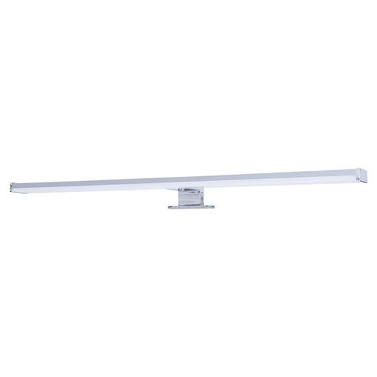 Svítidlo LED SOLIGHT koupelnové nad zrcadlo 12W, 900lm, 4000K, IP44, 60cm, stříbrné WO748