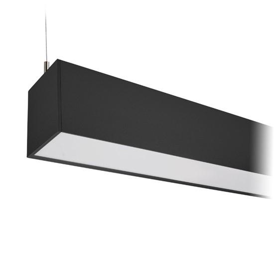 LED závěsné osvětlení SOLIGHT WPR-36W-002, 36W, 3060lm, 118cm, 3 roky záruka, černá barva