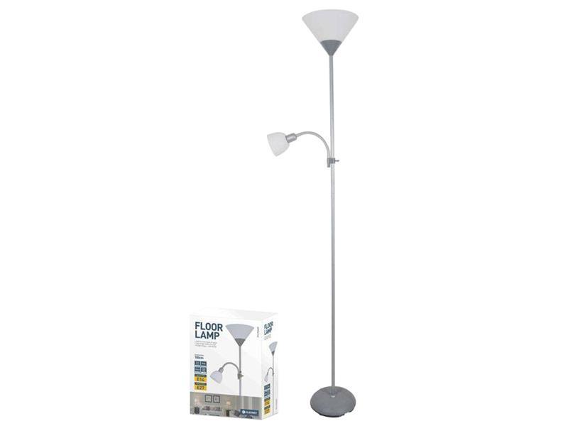 Lampa PLATINET PFLF066GR podlahová šedá