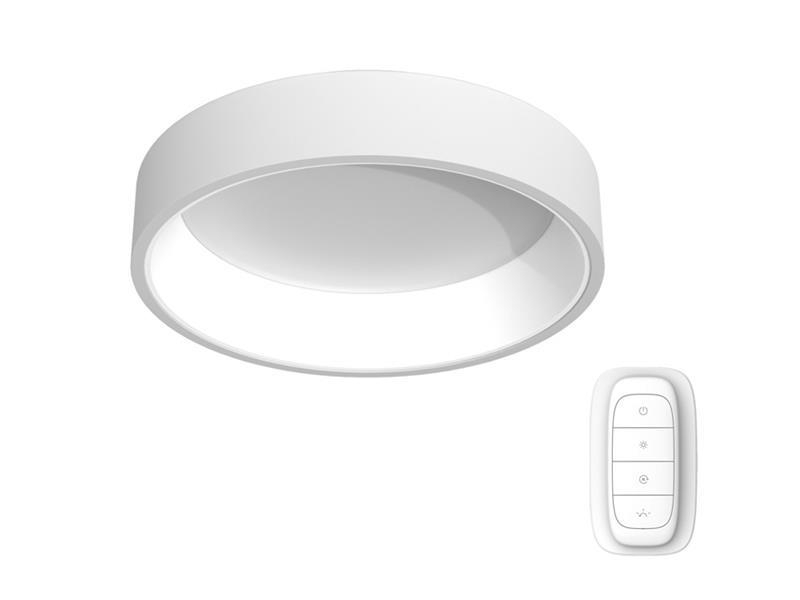 Svítidlo IMMAX NEO AGUJERO 07018L 39W 60 cm WHITE + dálkový ovladač