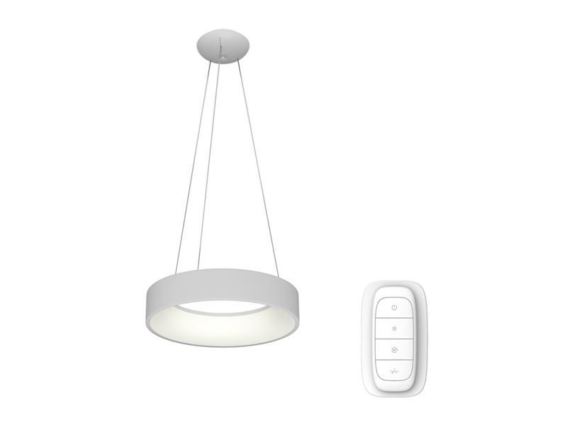 Svítidlo IMMAX NEO AGUJERO 07022L 39W 60 cm WHITE + dálkový ovladač