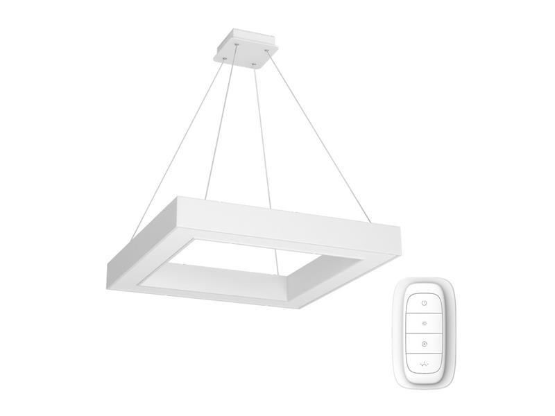 Svítidlo IMMAX NEO CANTO 07071L 60W 80 cm WHITE + dálkový ovladač