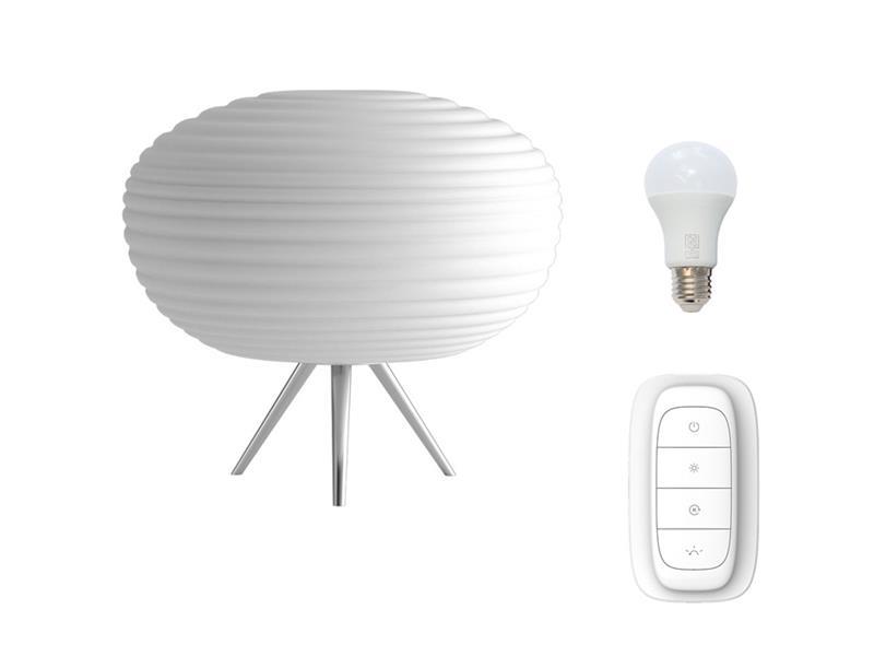 Lampa LED stolní IMMAX NEO COCONO 07065L 8.5W 34cm WHITE + dálkový ovladač