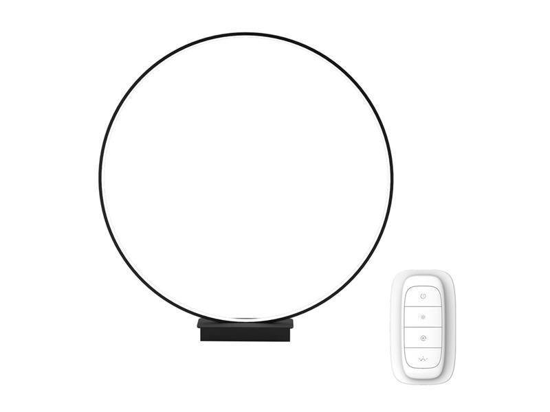 Lampa LED stolní IMMAX NEO ARO 07084L 18W 45 cm BLACK + dálkový ovladač