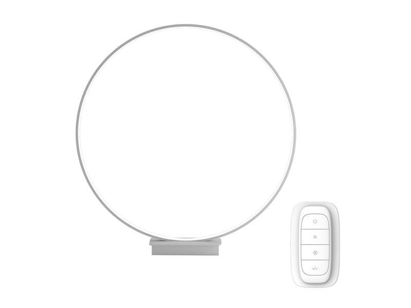 Lampa LED stolní IMMAX NEO ARO 07083L 18W 45 cm WHITE + dálkový ovladač
