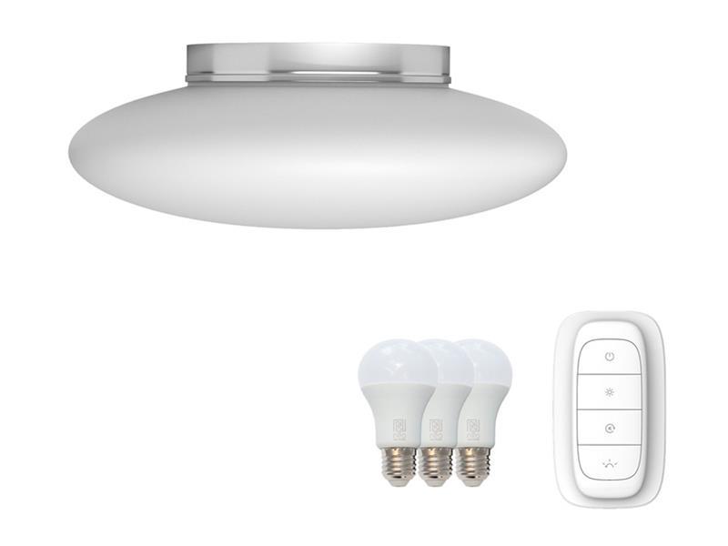 Svítidlo IMMAX NEO ELIPTICO 07057L 8.5W 50 cm WHITE + dálkový ovladač