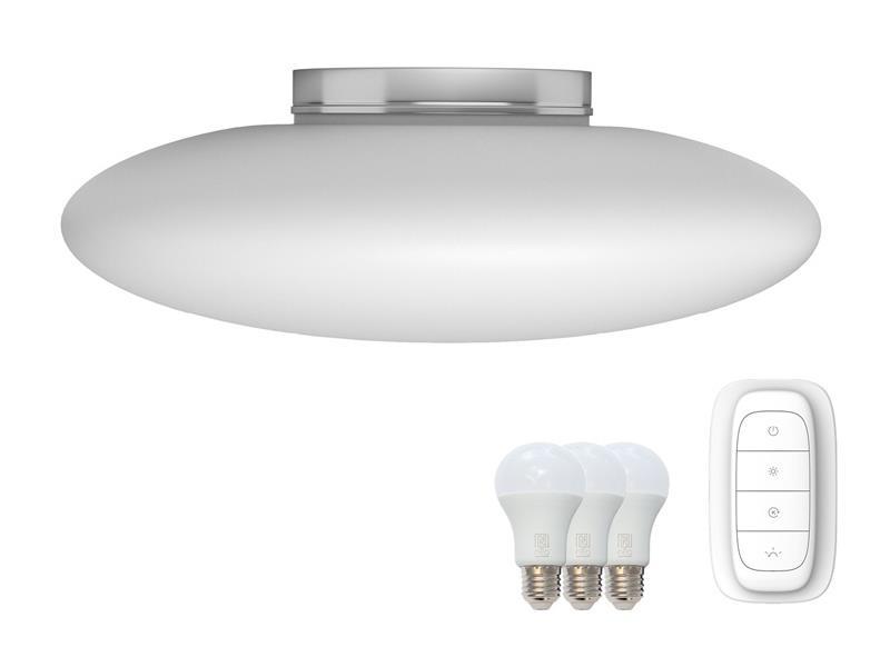 Svítidlo IMMAX NEO ELIPTICO 07058L 25.5W 60 cm WHITE + dálkový ovladač
