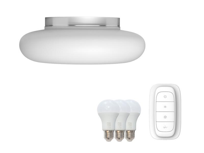 Svítidlo IMMAX NEO FUENTE 07061L 25.5W 40 cm WHITE + dálkový ovladač