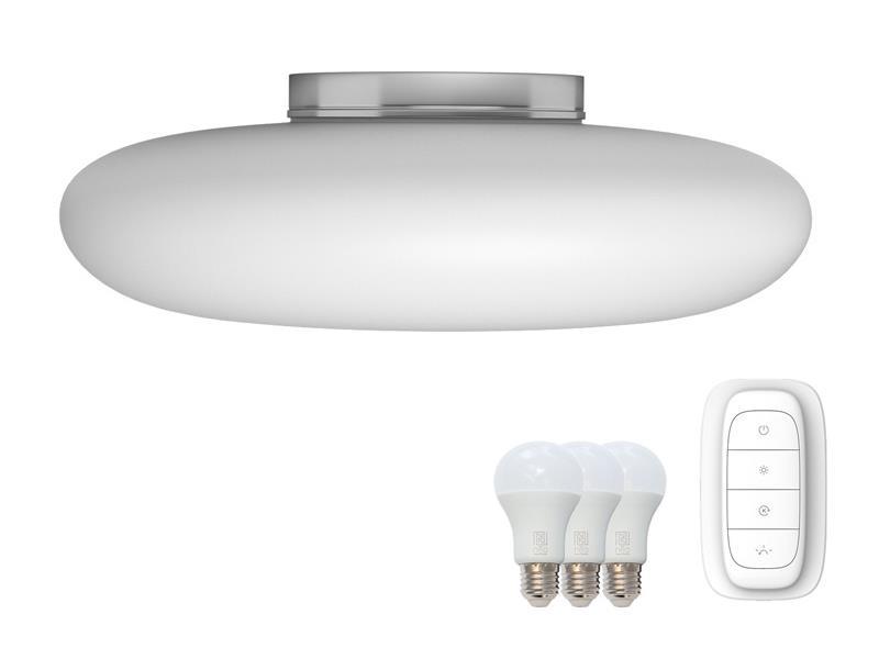 Svítidlo IMMAX NEO FUENTE 07062L 25.5W 60 cm WHITE + dálkový ovladač