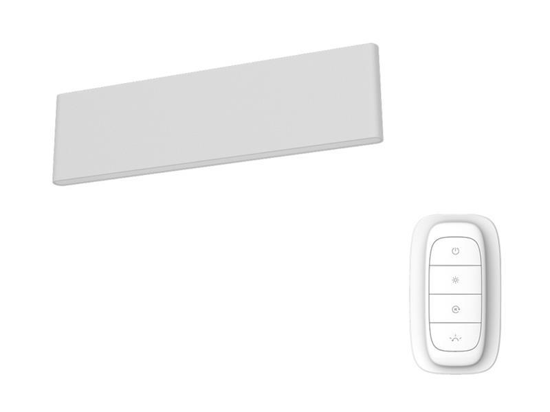 Svítidlo IMMAX NEO LISTON 07085L 8W 29 cm WHITE + dálkový ovladač