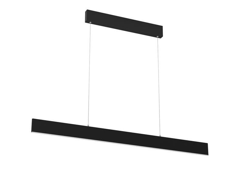 Svítidlo IMMAX NEO LISTON 07076L 18W 118 cm BLACK + dálkový ovladač