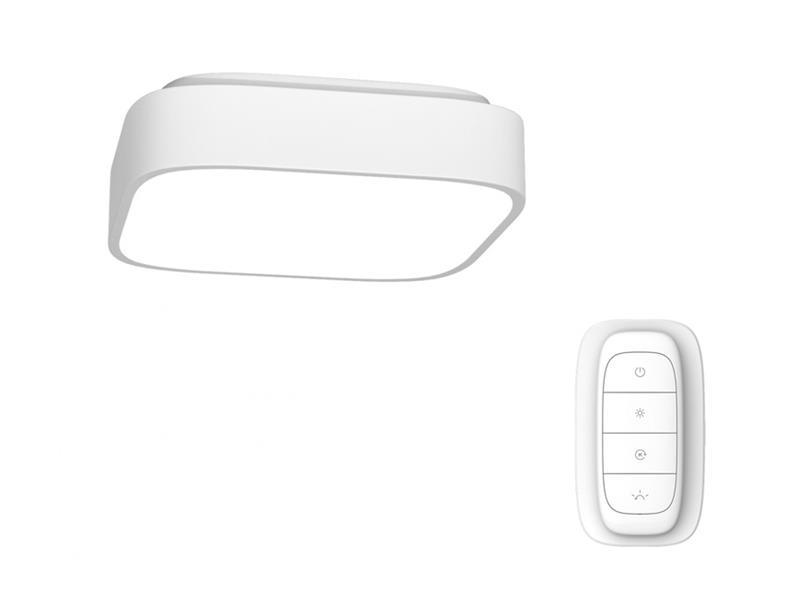 Svítidlo IMMAX NEO RECUADRO 07038L 36W 45 cm WHITE + dálkový ovladač