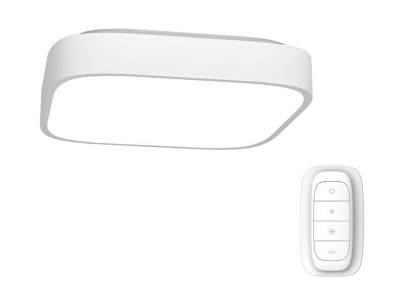 Svítidlo IMMAX NEO RECUADRO 07040L 56W 60 cm WHITE + dálkový ovladač