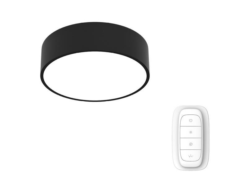 Svítidlo IMMAX NEO RONDATE 07023L 25W 40 cm BLACK + dálkový ovladač