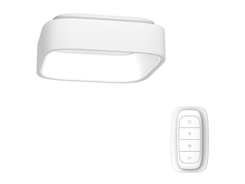 Svítidlo IMMAX NEO TOPAJA 07030L 36W 45 cm WHITE + dálkový ovladač