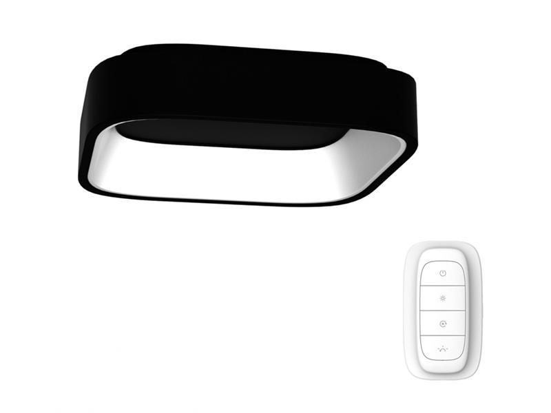 Svítidlo IMMAX NEO TOPAJA 07031L 47W 60 cm BLACK + dálkový ovladač