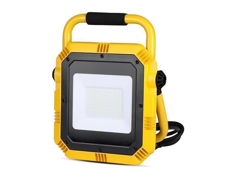 LED reflektor přenosný V-TAC VT-51 6400K 50W Samsung chip