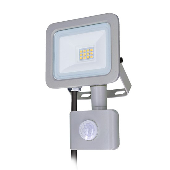 LED reflektor SOLIGHT WM-10WS-M 10W PIR