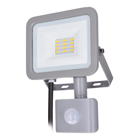 LED reflektor SOLIGHT WM-20WS-M 20W PIR