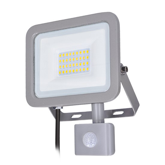 LED reflektor SOLIGHT WM-30WS-M 30W PIR