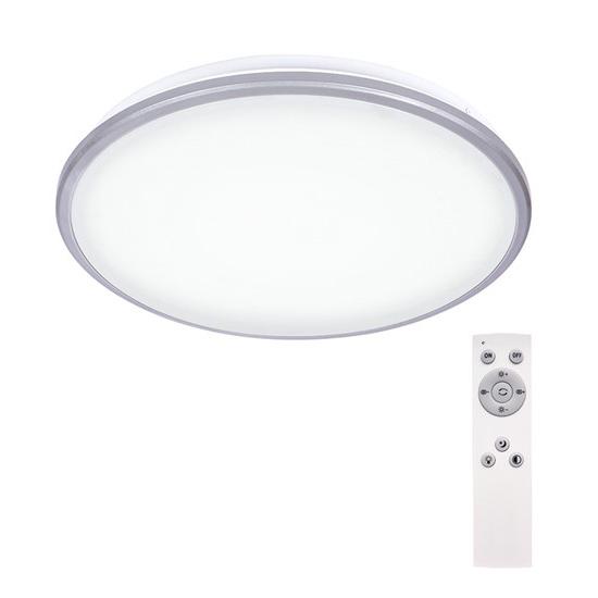 Svítidlo stropní SOLIGHT WO761 SILVER 24W