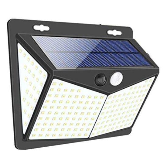 Svítidlo solární LED-III nástěnné s PIR