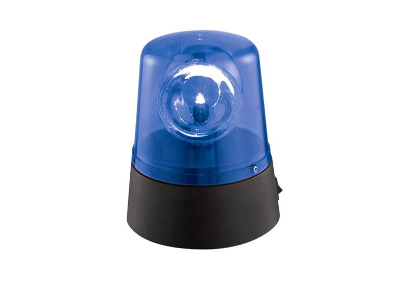 Majáček IBIZA JDL008B-LED modrý, nepravidelně blikající