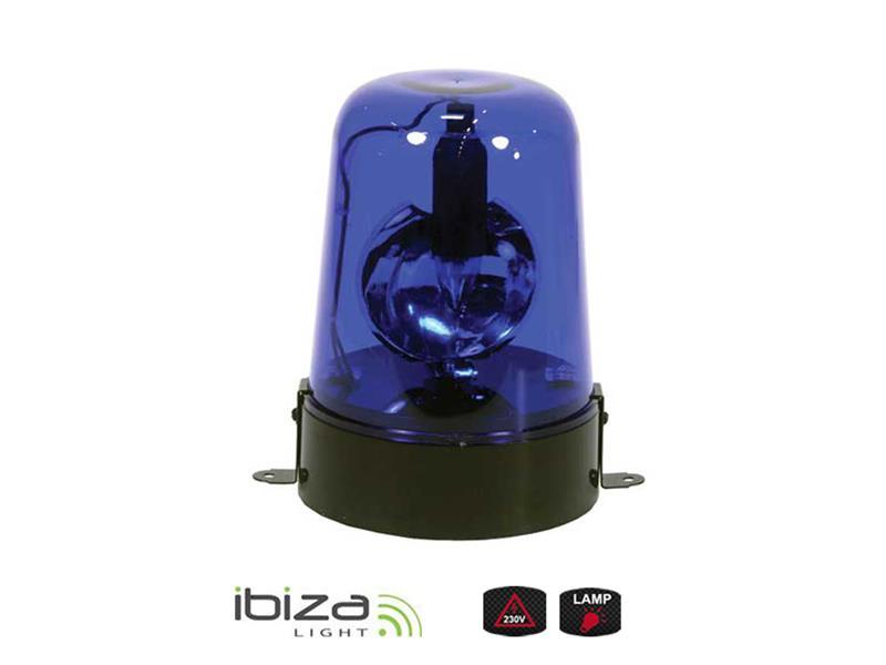 Majáček IBIZA JDL009B-LED modrý 12/220V