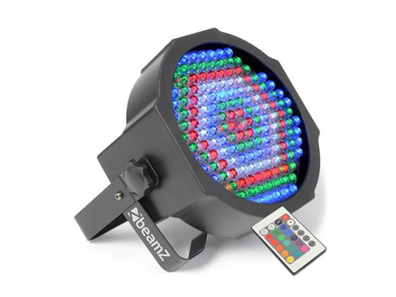 Efekt FlatPAR reflektor s IR, 154x 10mm RGBW, DMX BeamZ LED