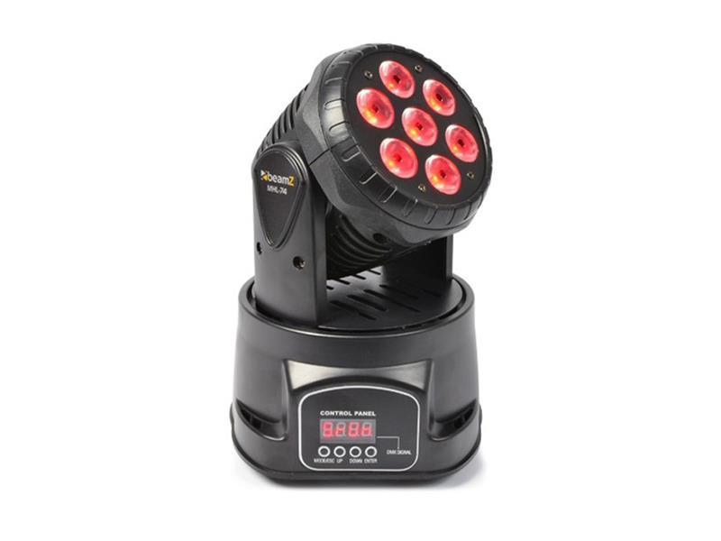 Efekt Otočná hlavice 7x10W RGBW LED, DMX BeamZ LED