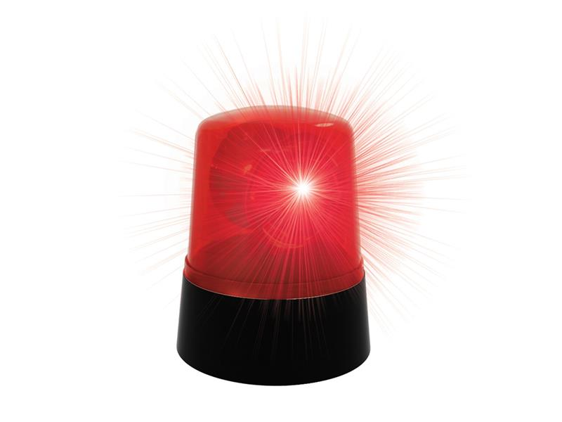 Maják PARTY FUN LIGHTS červený
