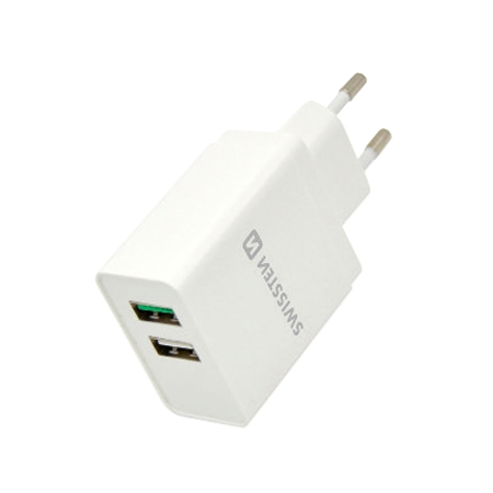 Adaptér USB SWISSTEN QUALCOMM 3.0 QUICK CHARGE