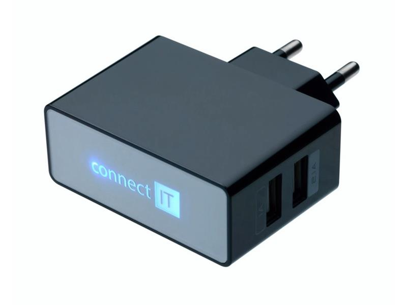 Adaptér USB CONNECT IT CI-153 POWER CHARGER