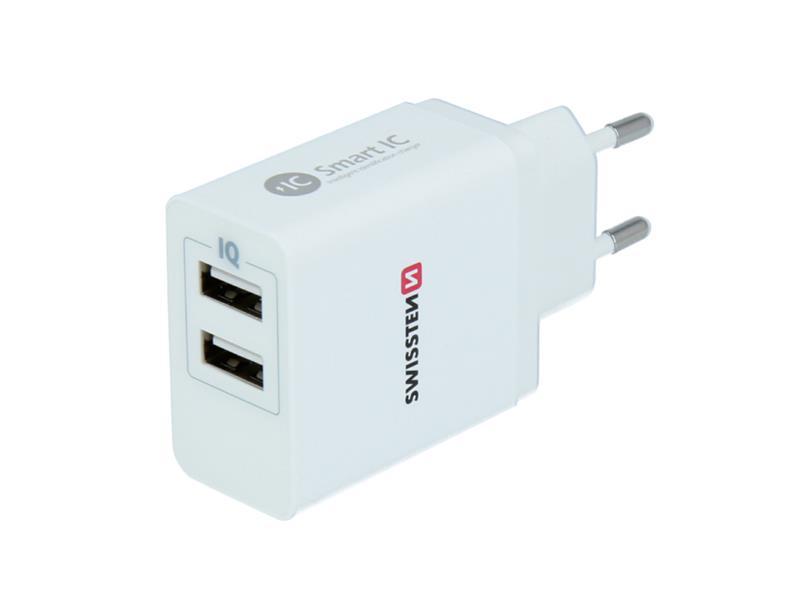 Adaptér USB SWISSTEN SMART IC