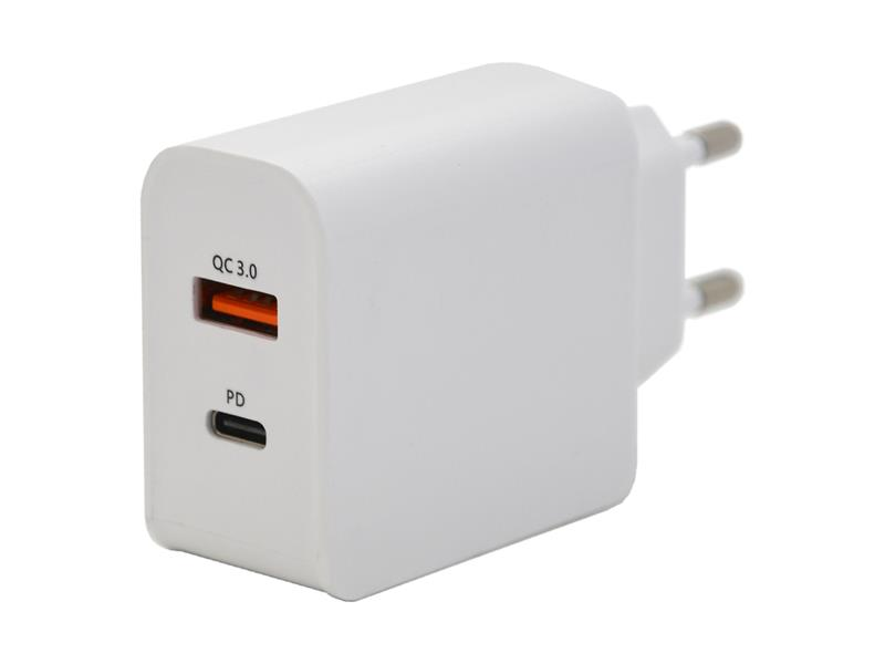 Adaptér USB COMPASS 07430 3.0 QUICK CHARGE