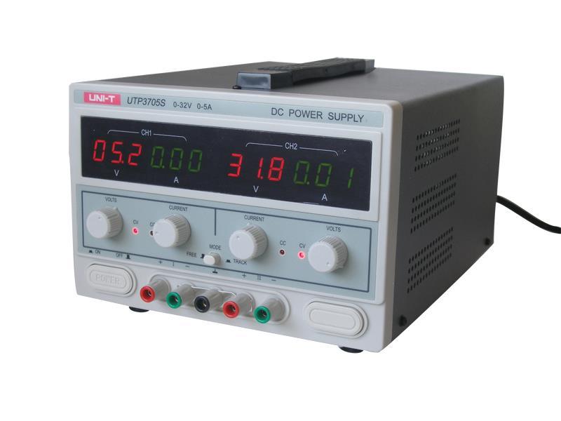 Zdroj laboratorní UNI-T UTP3705S 2x0-32V/ 2x0-5A
