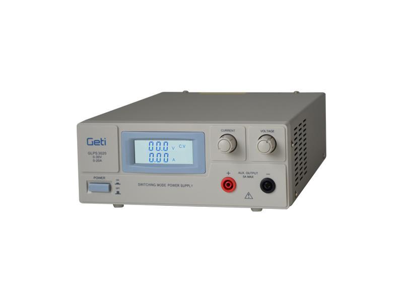 Zdroj laboratorní Geti GLPS 3020  0-30V/ 0-20A