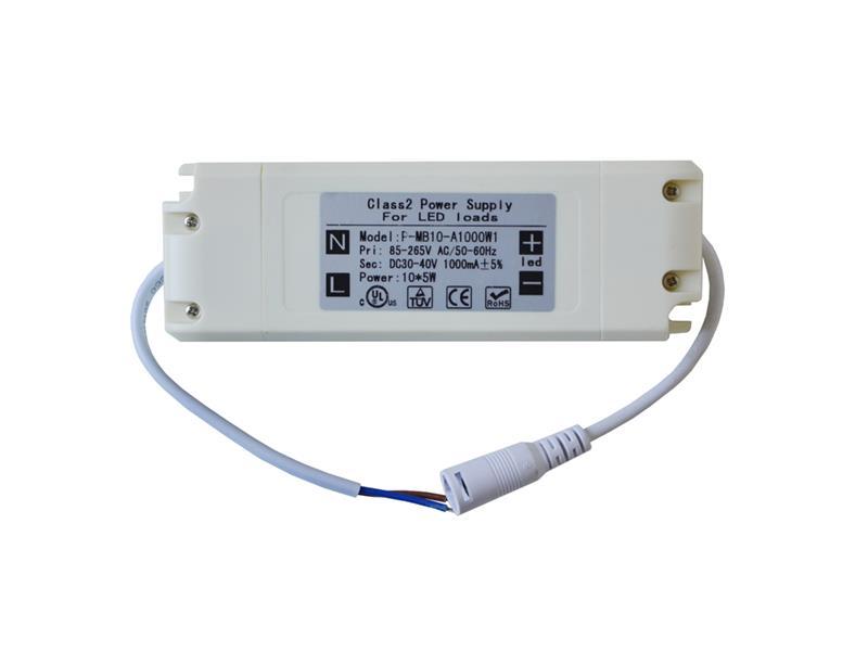 Zdroj pro LED panely (85-265VAC/ DC30-40V,1000mA)