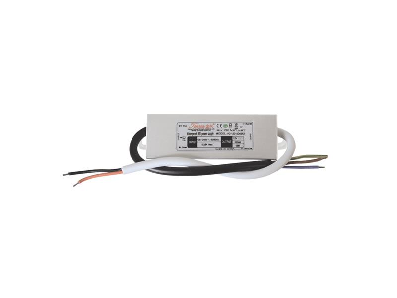 Zdroj pro LED pásky IP66, 12V/ 10W/0,83A