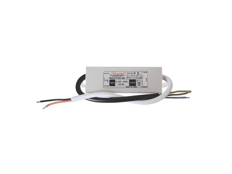 Zdroj spínaný pro LED diody + pásky IP66, 12V/ 10W/0,83A