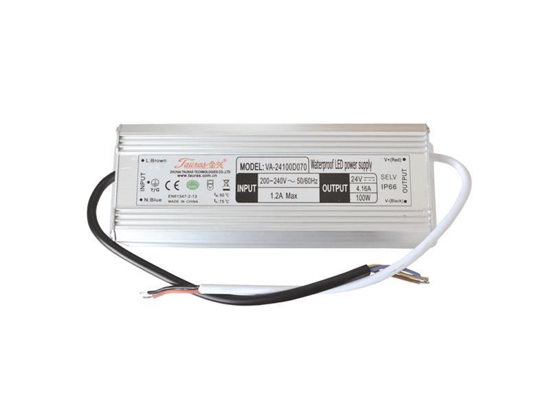 Zdroj pro LED pásky IP66, 24V/100W/4,17A