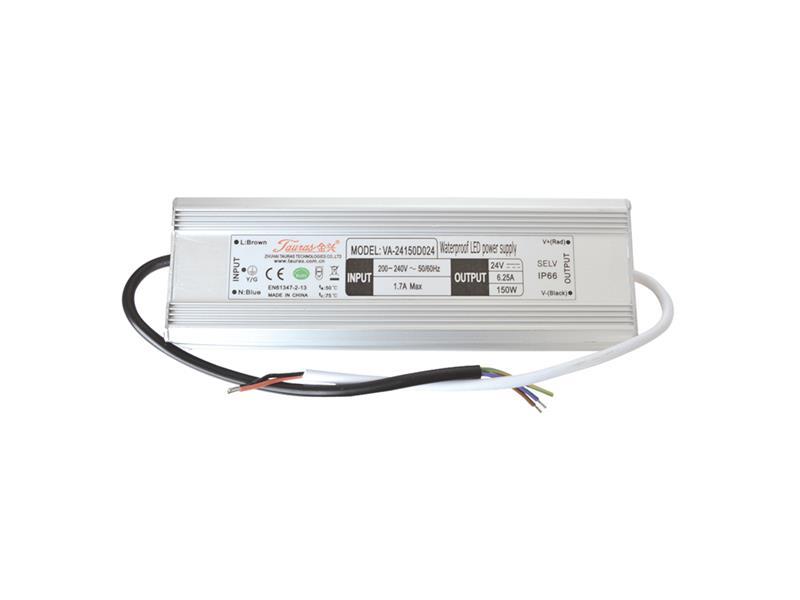 Zdroj pro LED pásky IP66, 24V/150W/6,25A
