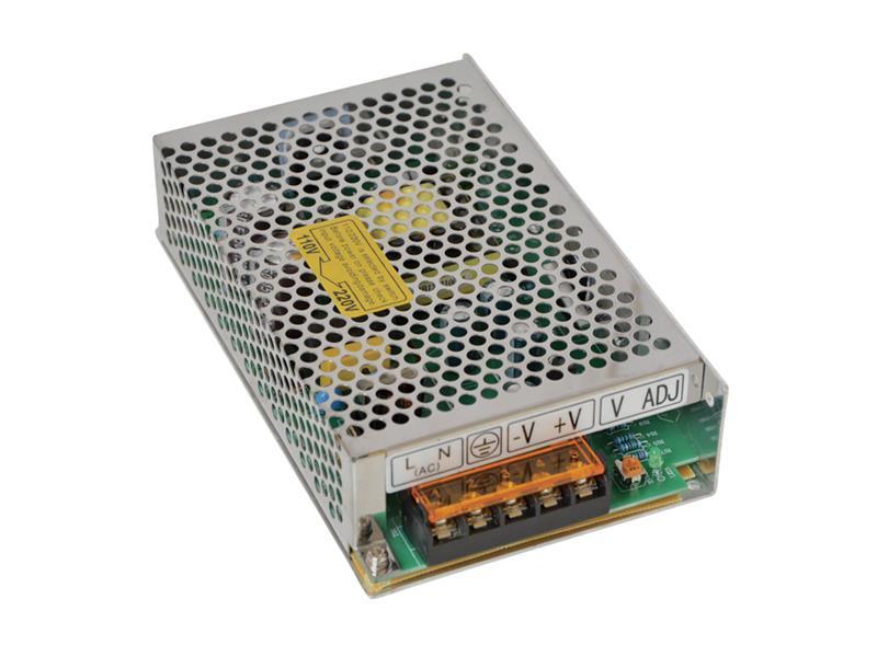 Zdroj spínaný pro LED diody + pásky IP20, 12V/ 60W/5A