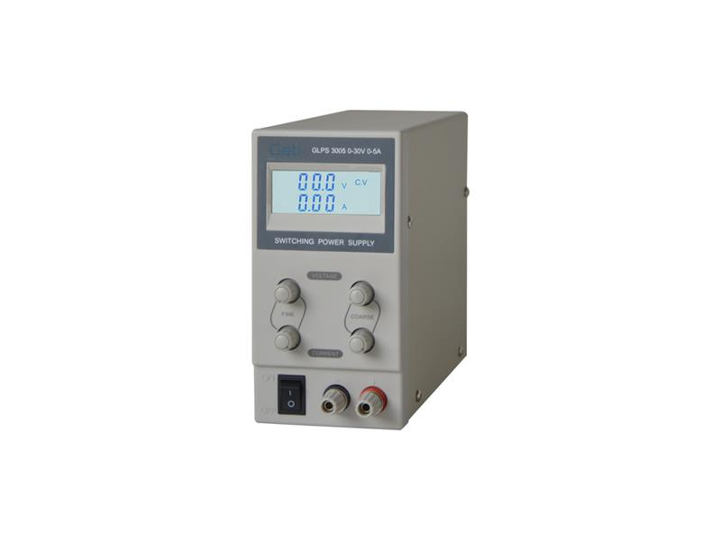 Zdroj laboratorní Geti GLPS 3005  0-30V/ 0-5A