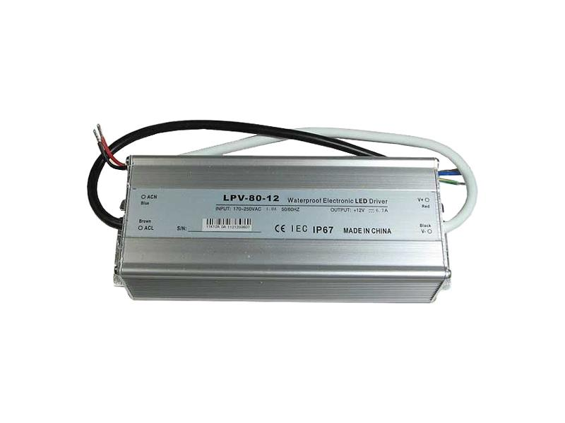 Zdroj-LED driver 12VDC/ 80W LPV80-12, CARSPA