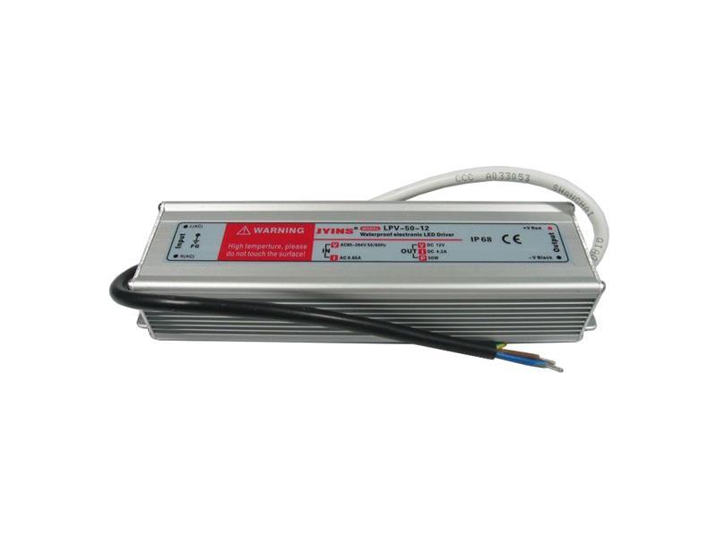 Zdroj-LED driver 12VDC/ 50W LPV50-12, JYINS