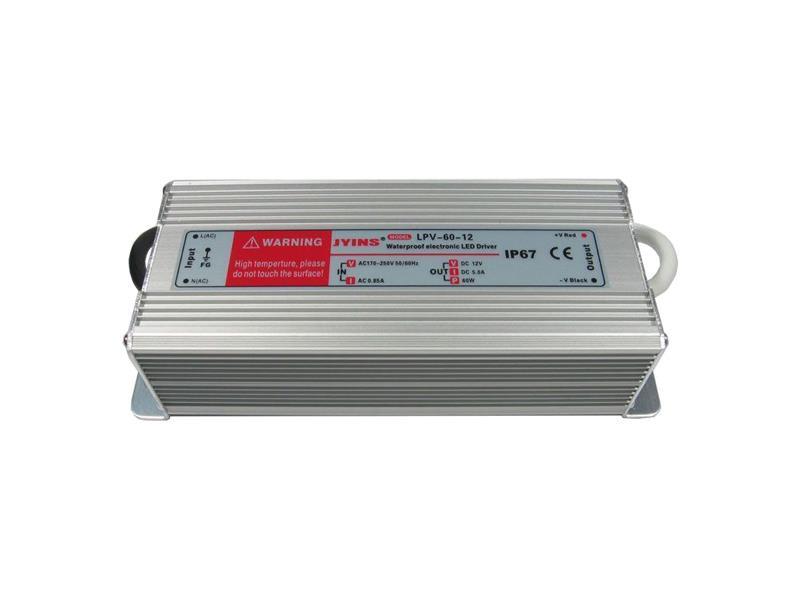 Zdroj-LED driver 12VDC/ 60W LPV60-12, JYINS