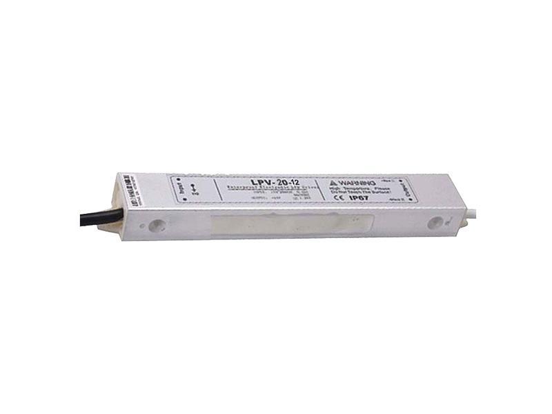 Zdroj-LED driver 12VDC/ 20W LPV20-12, CARSPA